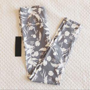 Roolee Gray Floral Leggings